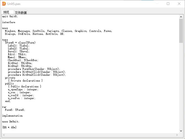 DiskGenius文本预览